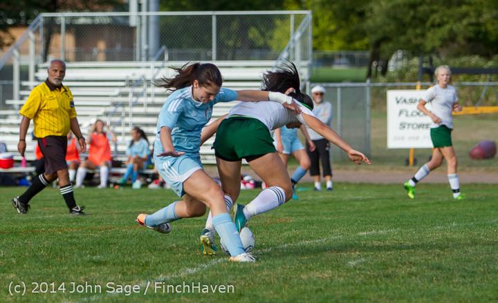 3075 Girls Varsity Soccer v Chief-Sealth 092214