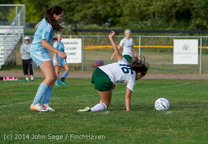 3085 Girls Varsity Soccer v Chief-Sealth 092214