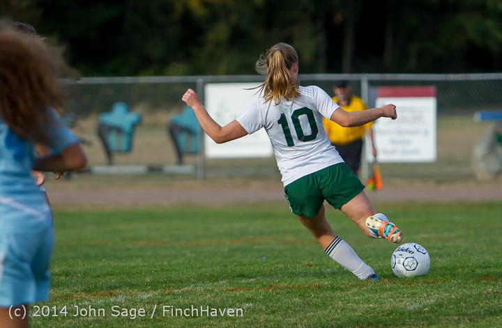 3106 Girls Varsity Soccer v Chief-Sealth 092214
