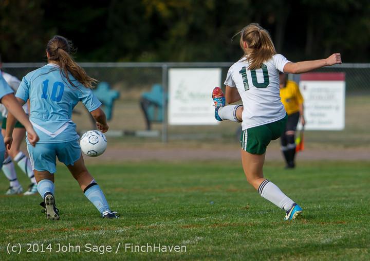 3109 Girls Varsity Soccer v Chief-Sealth 092214