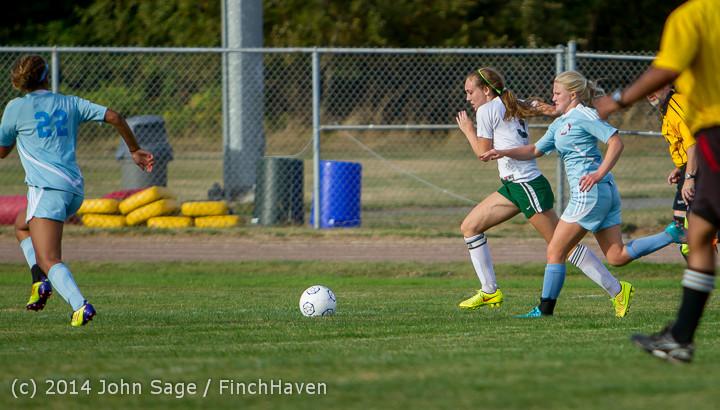 3141 Girls Varsity Soccer v Chief-Sealth 092214