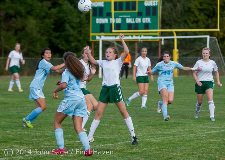 3188 Girls Varsity Soccer v Chief-Sealth 092214