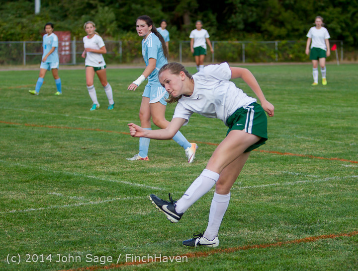 3242 Girls Varsity Soccer v Chief-Sealth 092214