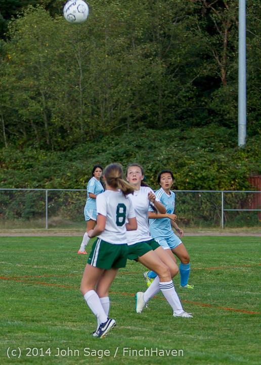 3268 Girls Varsity Soccer v Chief-Sealth 092214