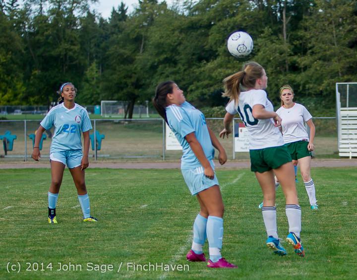 3274 Girls Varsity Soccer v Chief-Sealth 092214