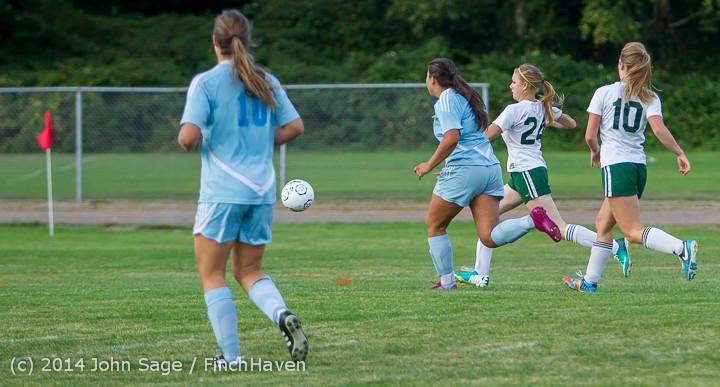 3307 Girls Varsity Soccer v Chief-Sealth 092214