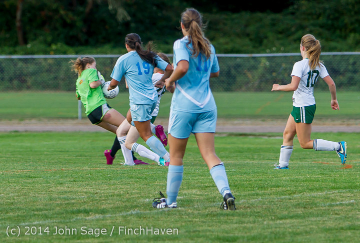 3311 Girls Varsity Soccer v Chief-Sealth 092214