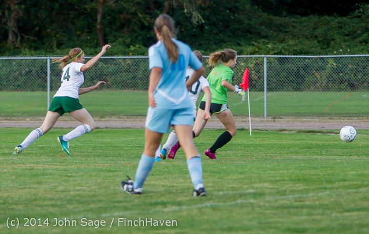 3317 Girls Varsity Soccer v Chief-Sealth 092214