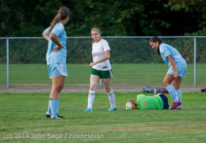 3336 Girls Varsity Soccer v Chief-Sealth 092214