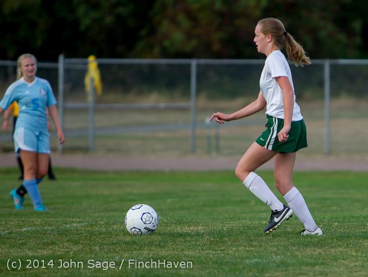 3342 Girls Varsity Soccer v Chief-Sealth 092214