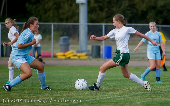 3344 Girls Varsity Soccer v Chief-Sealth 092214