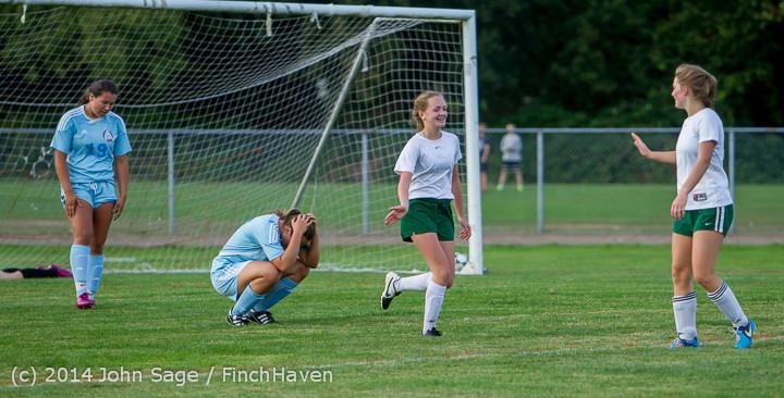 3388 Girls Varsity Soccer v Chief-Sealth 092214