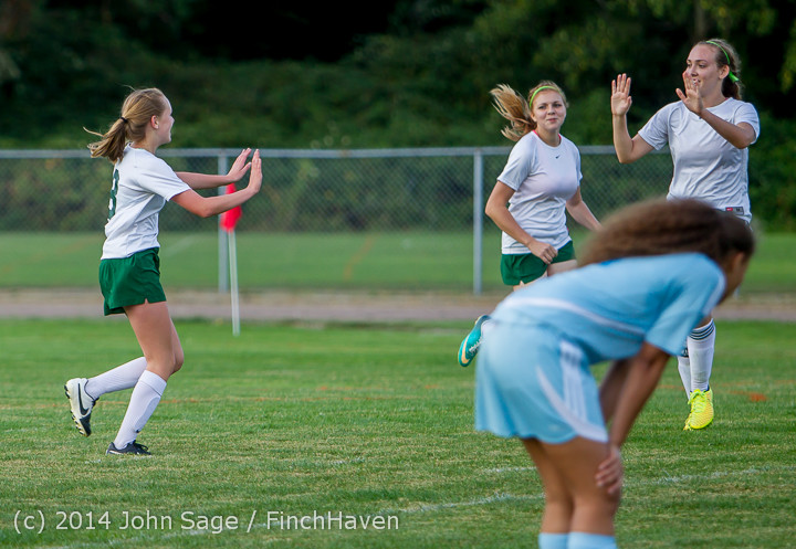 3394 Girls Varsity Soccer v Chief-Sealth 092214