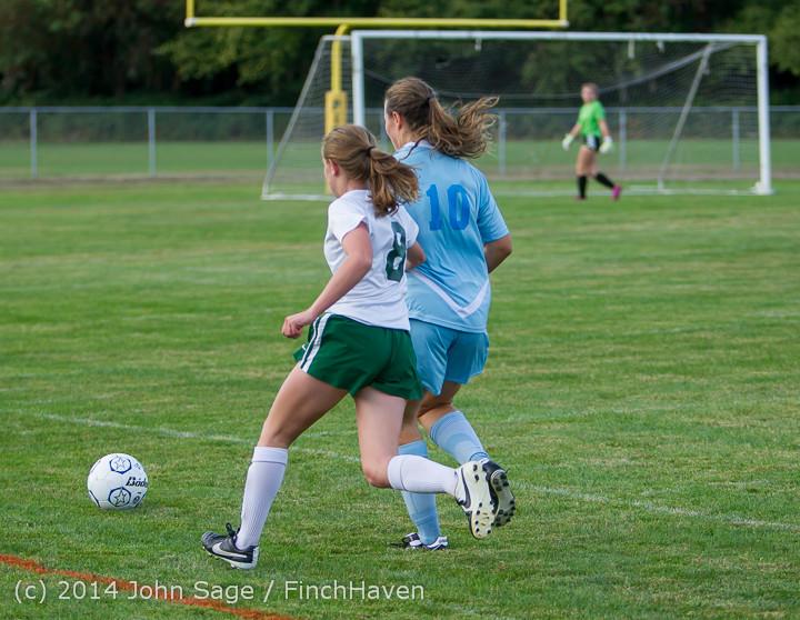 3425 Girls Varsity Soccer v Chief-Sealth 092214