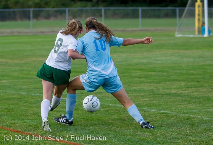 3431 Girls Varsity Soccer v Chief-Sealth 092214