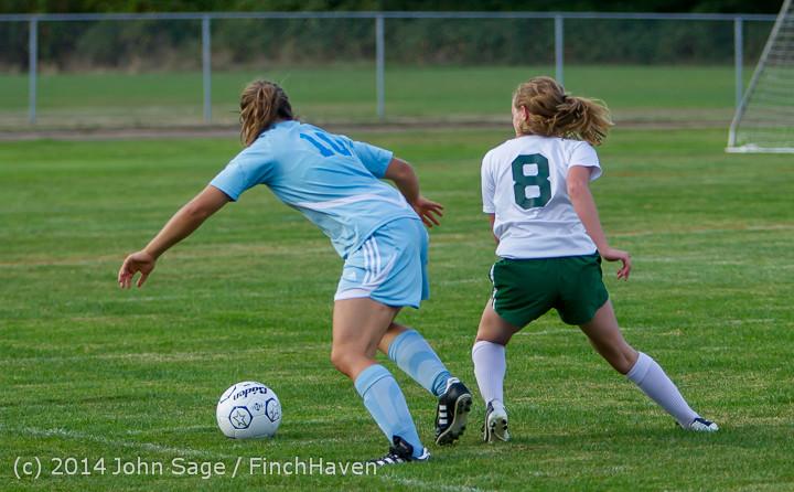 3438 Girls Varsity Soccer v Chief-Sealth 092214