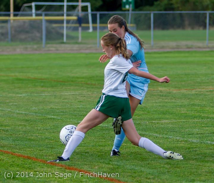 3443 Girls Varsity Soccer v Chief-Sealth 092214