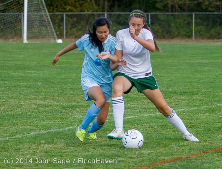 3458 Girls Varsity Soccer v Chief-Sealth 092214