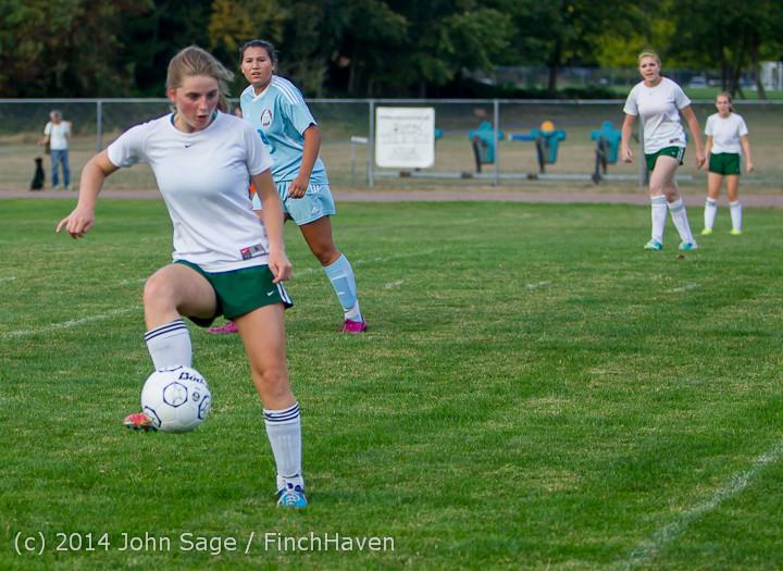 3465 Girls Varsity Soccer v Chief-Sealth 092214