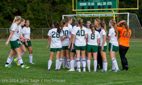 3503 Girls Varsity Soccer v Chief-Sealth 092214