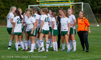 3518 Girls Varsity Soccer v Chief-Sealth 092214