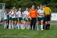 3542 Girls Varsity Soccer v Chief-Sealth 092214