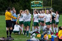 7379 Girls Soccer v Life-Chr 092313