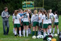7380 Girls Soccer v Life-Chr 092313