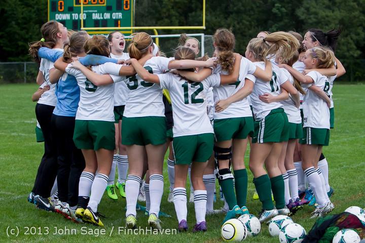 7386 Girls Soccer v Life-Chr 092313