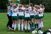 7397 Girls Soccer v Life-Chr 092313