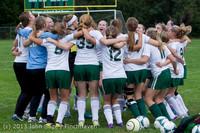7410 Girls Soccer v Life-Chr 092313