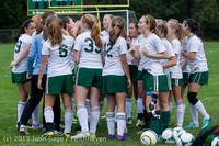 7424 Girls Soccer v Life-Chr 092313