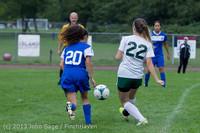 7436 Girls Soccer v Life-Chr 092313