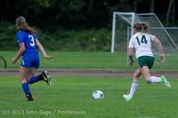 7440 Girls Soccer v Life-Chr 092313