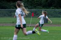 7443 Girls Soccer v Life-Chr 092313
