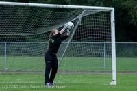 7453 Girls Soccer v Life-Chr 092313