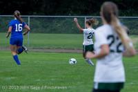 7471 Girls Soccer v Life-Chr 092313