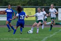 7481 Girls Soccer v Life-Chr 092313
