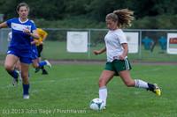 7487 Girls Soccer v Life-Chr 092313