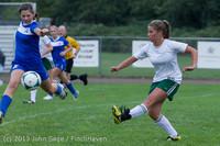 7489 Girls Soccer v Life-Chr 092313