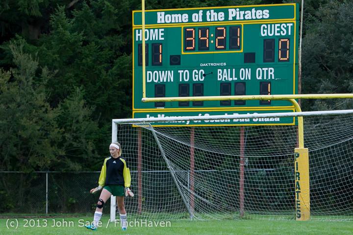7494 Girls Soccer v Life-Chr 092313