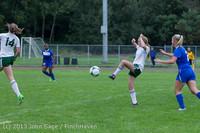 7511 Girls Soccer v Life-Chr 092313