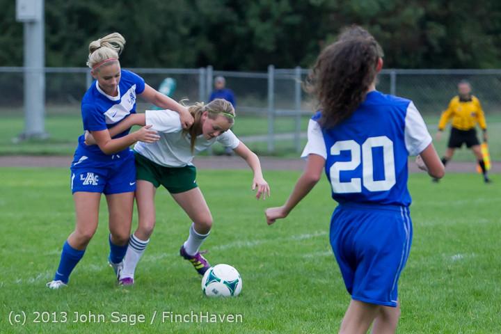 7519 Girls Soccer v Life-Chr 092313