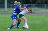 7525 Girls Soccer v Life-Chr 092313