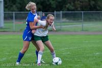 7534 Girls Soccer v Life-Chr 092313