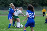 7541 Girls Soccer v Life-Chr 092313