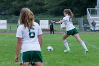 7544 Girls Soccer v Life-Chr 092313