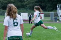 7545 Girls Soccer v Life-Chr 092313