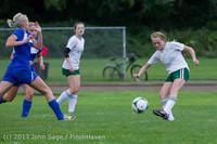 7552 Girls Soccer v Life-Chr 092313