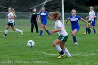 7566 Girls Soccer v Life-Chr 092313